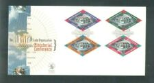Singapore 1996 WTO Ministerial Conference. Complete set, 4v. on FDC