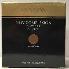 Revlon New Complexion Powder Oil Free .35 oz / 9.9 g Mahogany rare, Nib