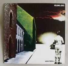 Killing Joke WHAT'S THIS FOR...! EG Records 1981 vinile ALBUM NEW WAVE