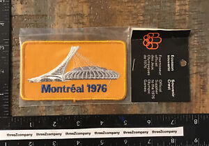 Vintage MONTREAL 1976 Olympic Games Souvenir Patch