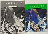 Grade 5 Language Arts Handbook & Answer Key 5th Curriculum Homeschool Harcourt