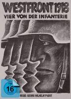 WESTFRONT 1918: VIER VON DER I - Fritz Kampers. Gustav Diessl  2 BLU-RAY NEU