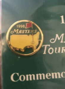NEW 1998 Masters Golf Tournament Commemorative Pin Mark O'Meara Augusta National