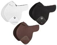 LeMieux ProSport Cotton CLOSE CONTACT Event NUMNAH Black/Brown/White Full Size