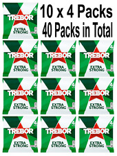 40 Rolls of 41.3g Trebor Extra Strong Mints 10x4 Packs Free P&P Only £14.99