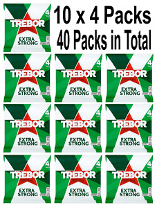 40 Rolls of 41.3g Trebor Extra Strong Mints 10x4 Packs Free P&P Only £15.99