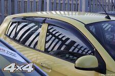 For Kia Picanto 2004 - 2011 Wind Deflectors Set 5 doors (4 pieces)