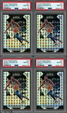 Lot of (9) 2018 Panini Mosaic Prizm #37 Jaren Jackson Jr. RC Rookie PSA 10