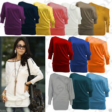 Polyester Batwing Sleeve Casual Other Tops for Women