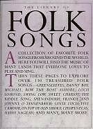 LIBRARY OF FOLK SONGS pvg