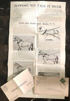 1910s Rome NY USA Commercial Cover Barnard Horse Harness To Gloversville