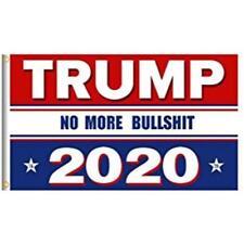 RWB Trump Flag No More BS 2020 Make America Again 3x5 Feet MAGA Flag Banner