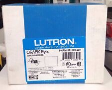 NEW LUTRON PHPM-3F-120-WH WHITE 120V GRAFIK EYE FLUORESCENT POWER SUPPLY MODULE
