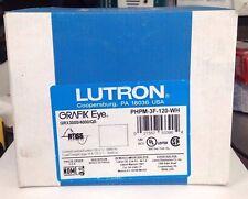 NEW LUTRON PHPM-3F-120-WH WHITE 120V GRAFIK EYE FLUORESCENT POWER SUPPLY MODULE