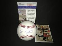 Eloy Jimenez Chicago White Sox JSA DEBUT COA Autographed Signed Baseball C