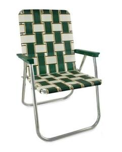 Lawn Chair USA CLASSIC Vintage Aluminum Webbing Chair MADE IN THE USA