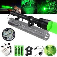 Tactical 500 Yard 3x LED Green LED Predator Coyote Gear Hog Hunting Night Light