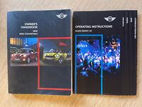 BMW MINI & MINI CONVERTIBLE OWNERS MANUAL HANDBOOK & AUDIOBOOK GENUINE BMW