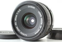 【Near MINT】Canon New FD NFD 35mm F2.8 Wide Angle MF Manual Lens from JAPAN #B066