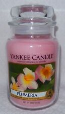 YANKEE CANDLE PLUMERIA LARGE JAR 22 OZ CANDLE BRAND NEW!