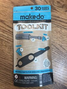 Makedo Cardboard Construction Tool Kit 30 Reusable Tools