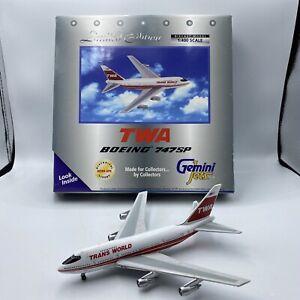 1/400 Gemini Jets Boeing 747SP  TWA  # GJTWA266