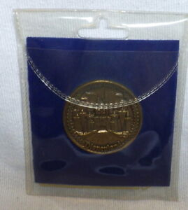 Disneyland Park Attractions Bronze Medallion Coin BANDLEADER MICKEY IN CENTER