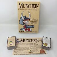Munchkin by Steve Jackson Card Board Game Standard Starter Pack *Brand NEW* D1A
