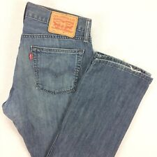 LEVI's 514 SLIM Straight Fit Jeans Mens Sz 32 x 30 (tagged 31 x 30) Medium Fade