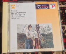 SONY CLASSICAL SBK 48 161 DVORAK slavonic dances SZELL 1992 CD