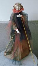 """Spain ~ Vintage Marionette Art Doll Spirit Goblin Puppet - #102 Duende Roso 23"""""""