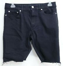 New PacSun Up-Cycled Mens Bermuda Cut Off Active Stretch Jean Shorts 28-36