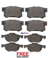 FOR HONDA ACCORD ESTATE (2003-2008) FRONT & REAR BRAKE PADS SET NEW