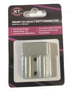 KT Cable 12V Heavy Duty 50AMP Connector (Anderson Plug) 1 PC, 2 PCs, 10PCs