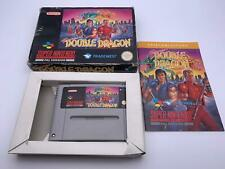 Super Nintendo💎Super Double Dragon💎Game With Box💎SNES