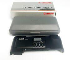 Canon Quartz Data zurück und