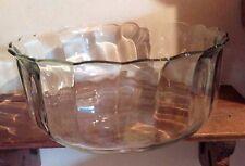 "Decorative Glass Fruit Bowl 10"""