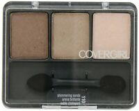 COVERGIRL EYE ENHANCERS EYESHADOW TRIO PALETTE You Choose Many Shades New