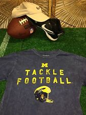 U OF M MICHIGAN STATE WOLVERINES THROWBACK T SHIRT small high quality SOFT C3