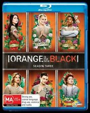 Orange Is The New Black : Season 3 (Blu-ray, 2016, 3-Disc Set)