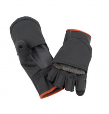 SIMMS Guide Windbloc Foldover Mitt-- Raven (New with Tags)