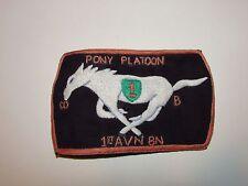 b9275 US Army Vietnam Company B 1st Aviation BN 1st Infantry Division  IR38A