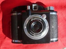 Vintage Whitehouse Products Beacon 127 Film Camera with Original Leather Case