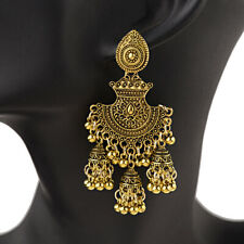 Fashion Traditional Tribal Oxidized Jhumka Earrings Indian Bollywood Jewelry New