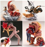 Kaiyodo Capsule Q Characters Vol 1 Attack on Titan Figure Eren Rogue titan