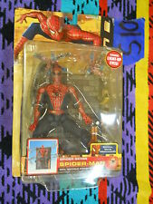 S10_18 Toy Biz Marvel Legend Lot Movie Series 2 LIGHT UP SPIDER SENSE SPIDER MAN