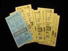 Group of 11 1974 New York Yankees Ticket Stubs
