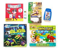 Boys Activity Toys Pack - Toy Story Top Trumps Dinosaurs Pirate Colouring Paint