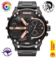 DIESEL Mr.DADDY 2.0 Chronograph Black Watch DZ7312