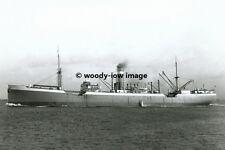 rp01109 - Ellerman Cargo Ship - City of Hankow , built 1915 - photo 6x4